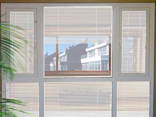 中空内置百叶节能玻璃遮阳